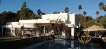 Villa design avec beau jardin et piscine     La pinède Rabat