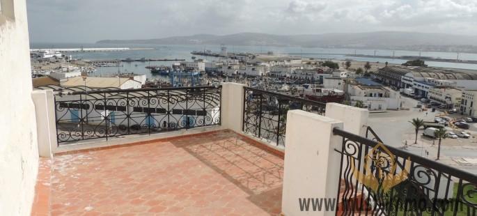 Maison avec vue Mer et marina de Tanger