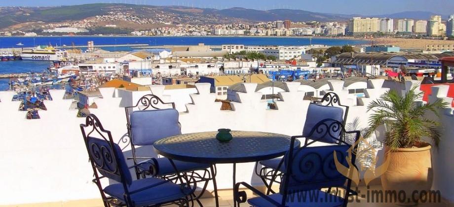 Guest house m dina de tanger vue sur mer et panoramique for Chambre de commerce tanger
