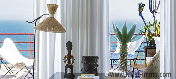 Splendide villa en front de mer, location à Tanger