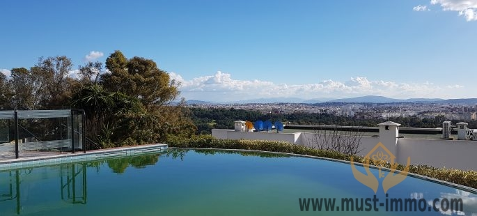 Beautiful villa offering exceptional quality located in the heights of the Old Mountain of Tangier
