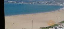 Magnifique duplex en étage élevé face à la mer sur la côte de Tanger