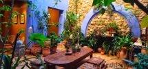 Spacieux Riad à vendre avec patio verdoyant plein sud dans la Kasbah de Tanger