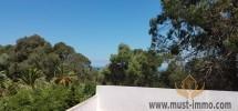 Villa vieille montagne vue sur mer