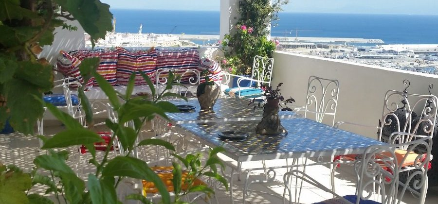 Superb apartment with amazing views of the port of Tangier