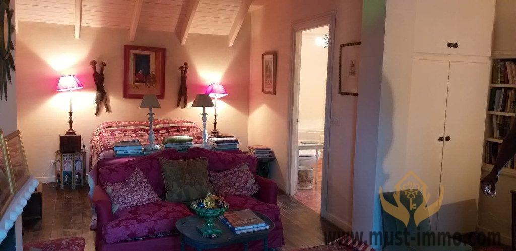 Tanger, Jbila : villa de plain pied avec vue sur mer