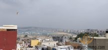 Old medina of Tangier : Traditional house with beautiful views of the Strait of Gibraltar and the Kasbah.