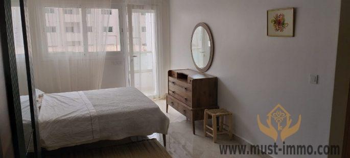 Tanger centre ville : Très bel appartement ensoleillé à louer