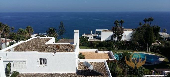 Villa de prestige vue mer avec piscine chauffée et grand jardin, Cabo Negro