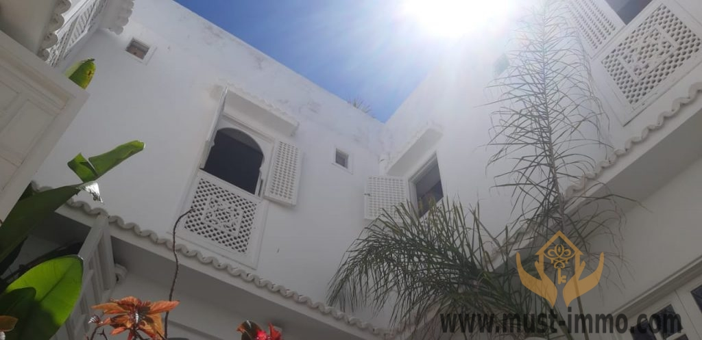 Belle maison à vendre dans l'ancienne médina d'Asilah