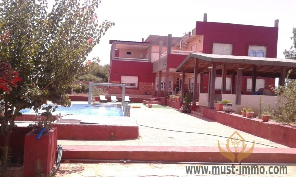 Charming farm – fully titled with two hectares and swimming pool in the area of Asilah