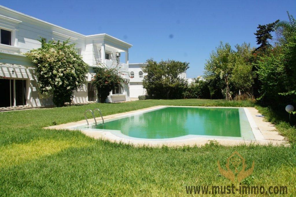 Rabat, Souissi : Très belle villa à vendre