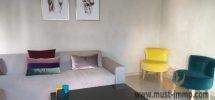 Tanger, Malabata : villa meublée dans une résidence sécurisée à louer