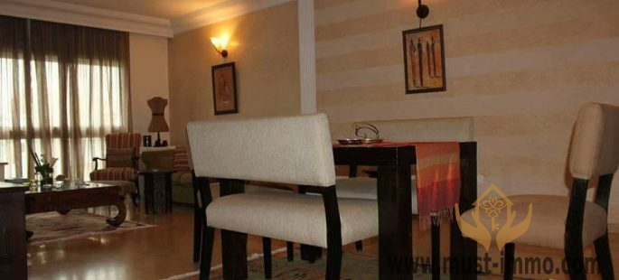 Casablanca, Gauthier : appartement de 119 m2 à vendre exposition Sud