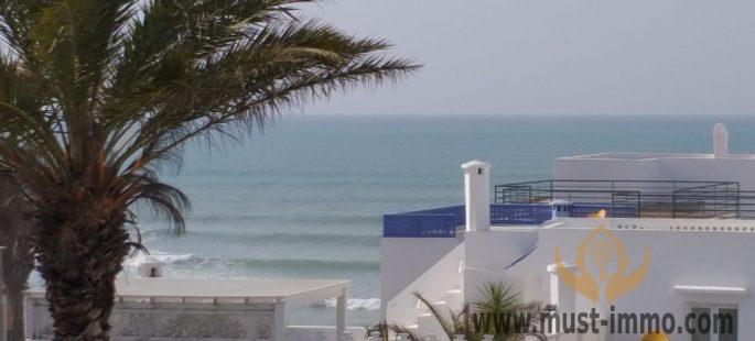 Asilah : Magnifique maison vue mer avec patio, ancienne médina d'Asilah