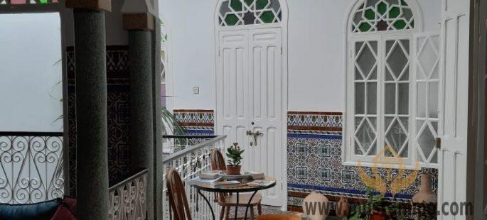 Tanger, médina : très belle maison d'hôtes à vendre