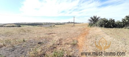 Terrain à vendre dans la région d'Asilah vue mer