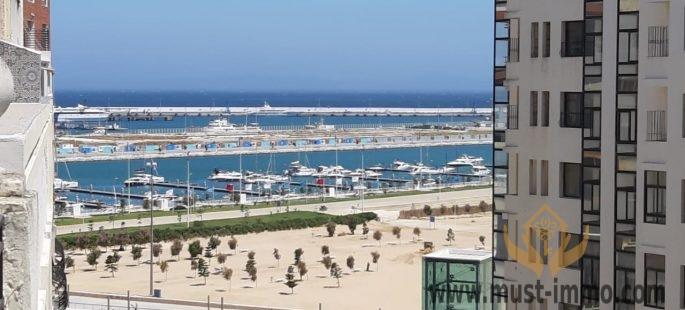طنجة ، شقة للبيع تطل على البحر