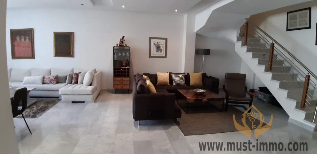 Tanger, Iberia : très beau appartement en duplex à vendre
