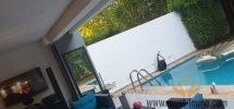 Dar Bouazza : Appartement très élégant avec jardin et piscine privative