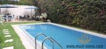 Casablanca, Ain Diab: Villa con piscina en alquiler