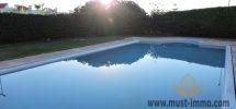 Casablanca, Ain Diab : Villa avec piscine dans une jolie résidence sécurisée