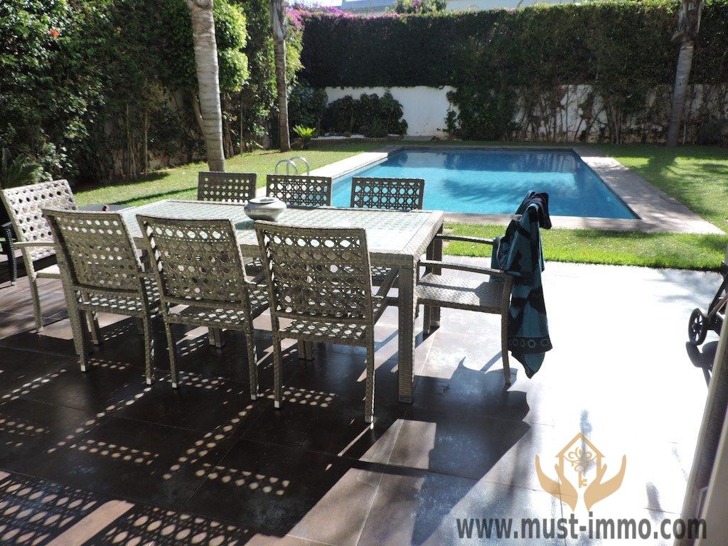 Casablanca, Californie : villa à vendre dans un quartier résidentiel sécurisé