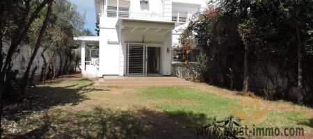 Casablanca, Anfa, Dawliz: villa for sale (commercial lease possible)
