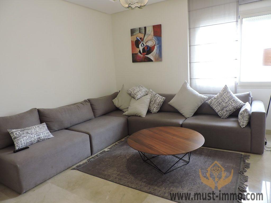 Casablanca, Anfa : appartement meublé à louer