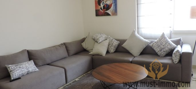 Casablanca, Anfa: furnished apartment for rent