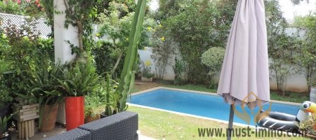 Casablanca, Ain Diab: villa for sale in a secured residence