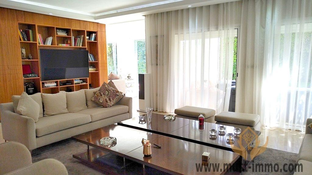 Rabat, Longchamps : villa de prestige à louer