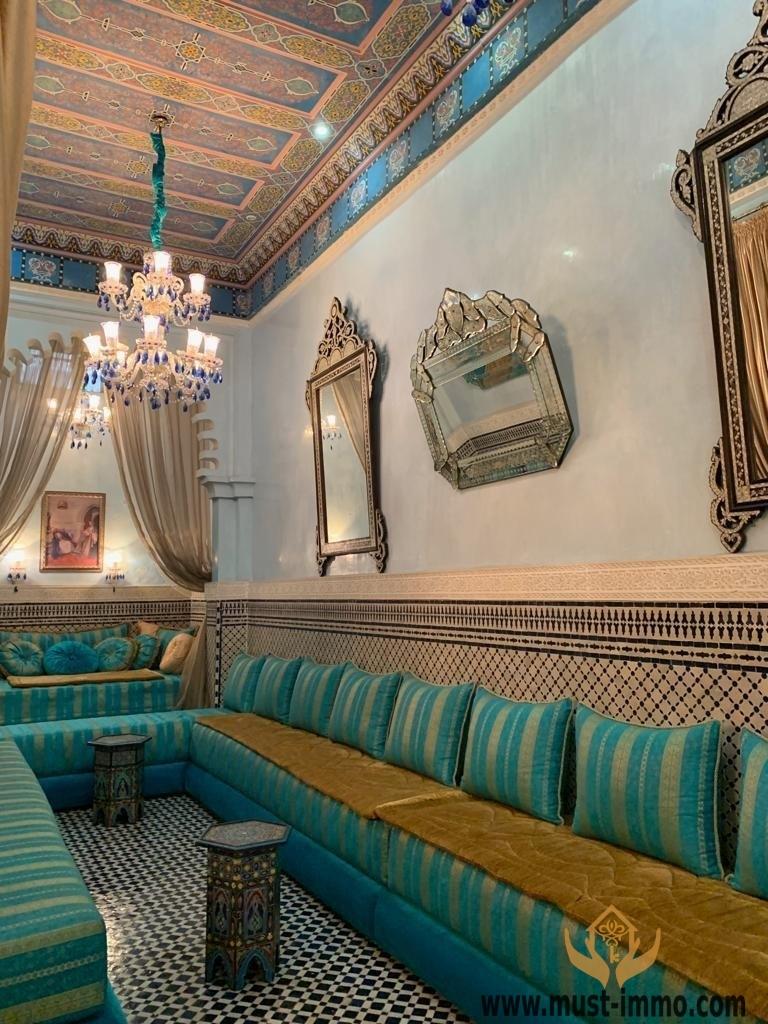 Tétouan : Grand Riad avec autorisation maison d'hôtes haut de gamme