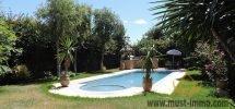 Casablanca, Ain diab : villa avec piscine à vendre