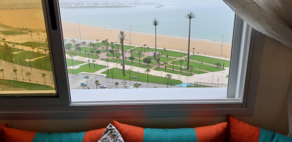 Appartement vue Mer location meublée étage élevée