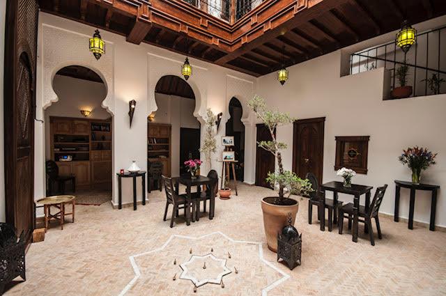 Grand authentique Riad dans le quartier historique de la médina, Vue mer