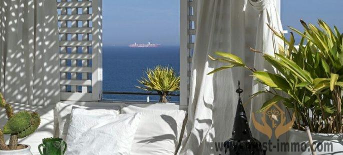 Splendide villa en front de mer, A vendre Tanger, Maroc