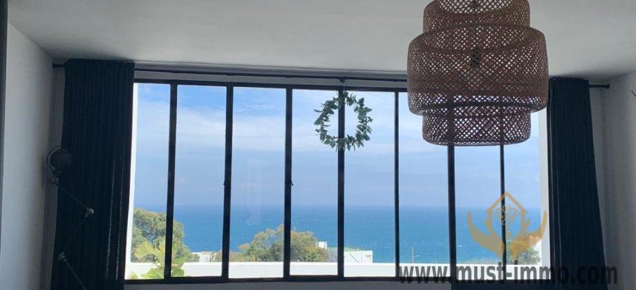Maison a vendre meublée avec terrasse vue sur mer